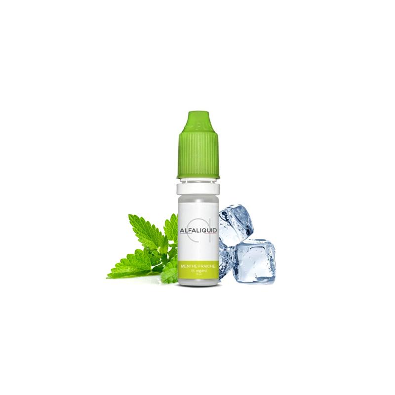 E-liquide saveur Menthe Fraiche - ALFALIQUID