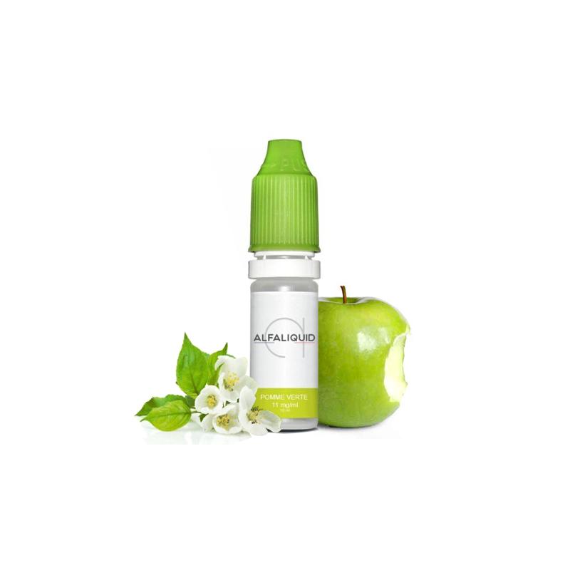 E-liquide saveur Pomme Verte - ALFALIQUID