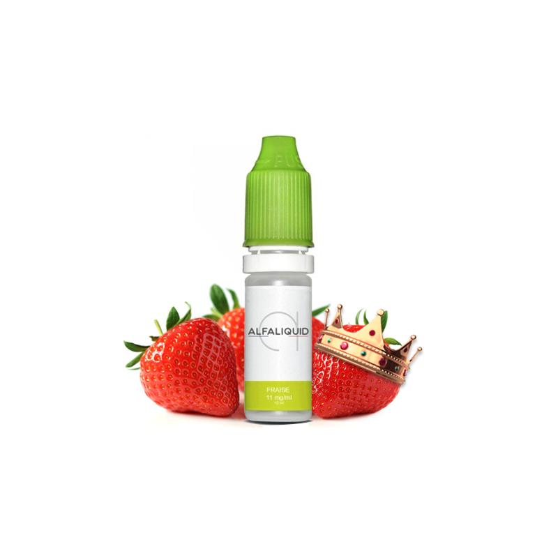 E-liquide saveur Fraise - ALFALIQUID