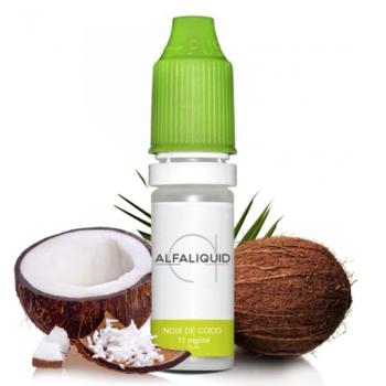 E-liquide saveur Noix de coco - ALFALIQUID