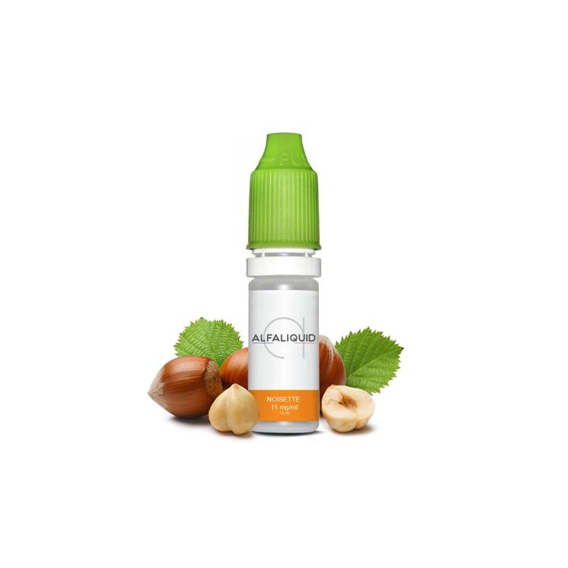 E-liquide saveur Noisette - ALFALIQUID