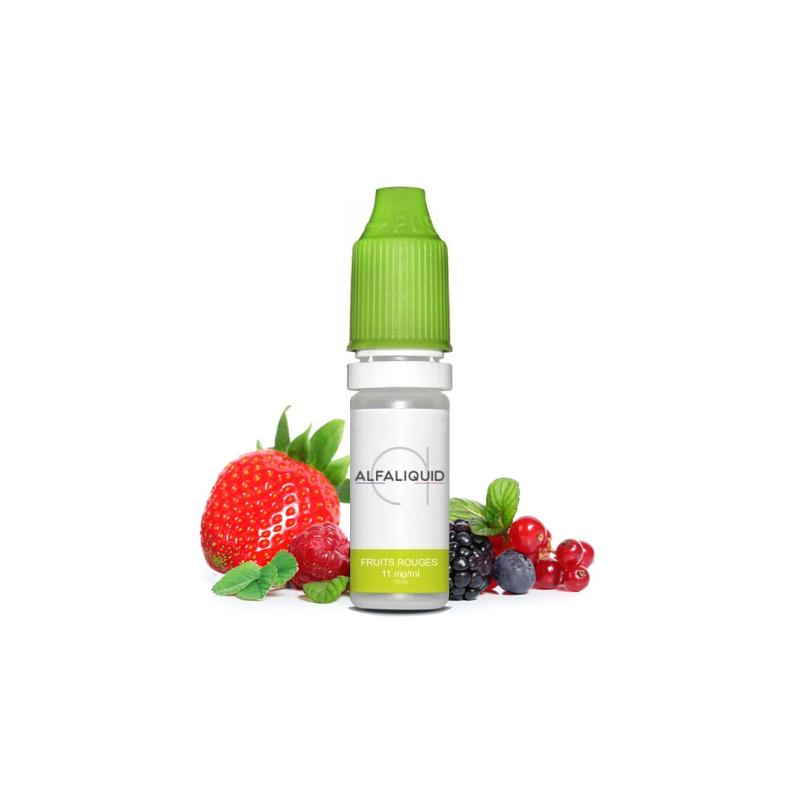 E-liquide saveur Fruits rouges - ALFALIQUID