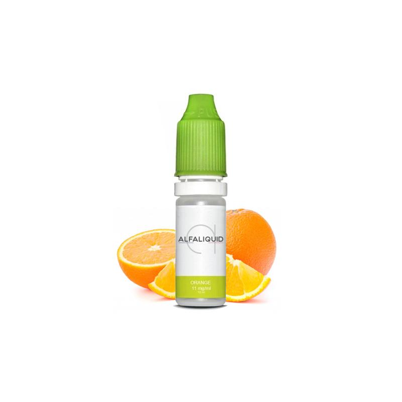 E-liquide saveur Orange - ALFALIQUID