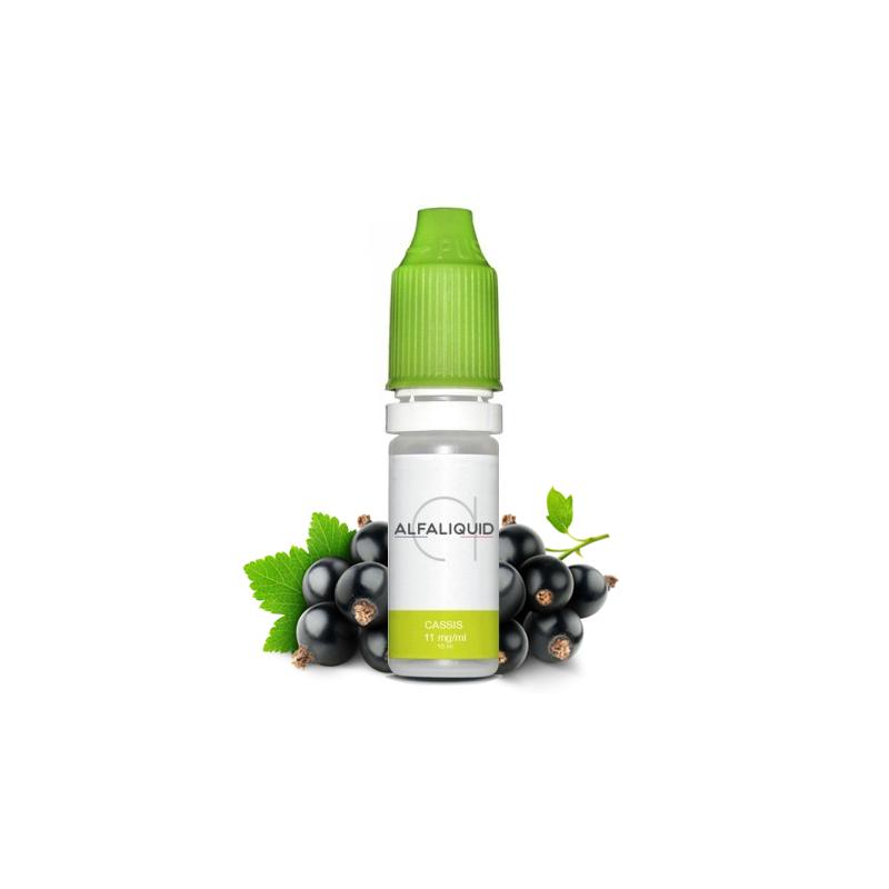 E-liquide saveur Cassis - ALFALIQUID