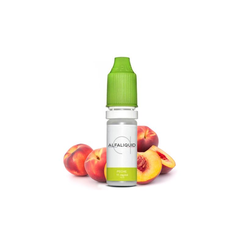 E-liquide saveur Pêche - ALFALIQUID