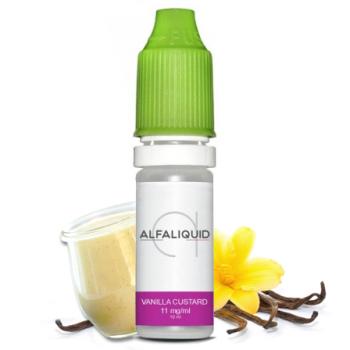 E-liquide saveur Vanilla Custard - ALFALIQUID