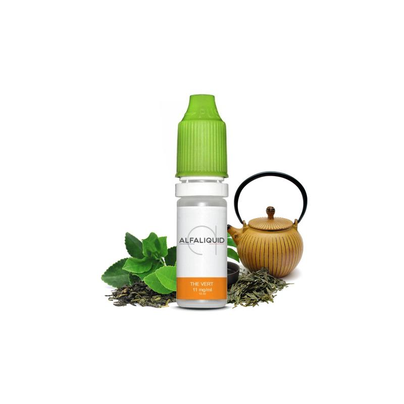 E-liquide saveur Thé Vert - ALFALIQUID