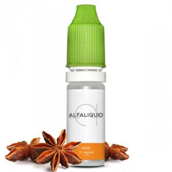 E-liquide saveur Anis 10ml - ALFALIQUID