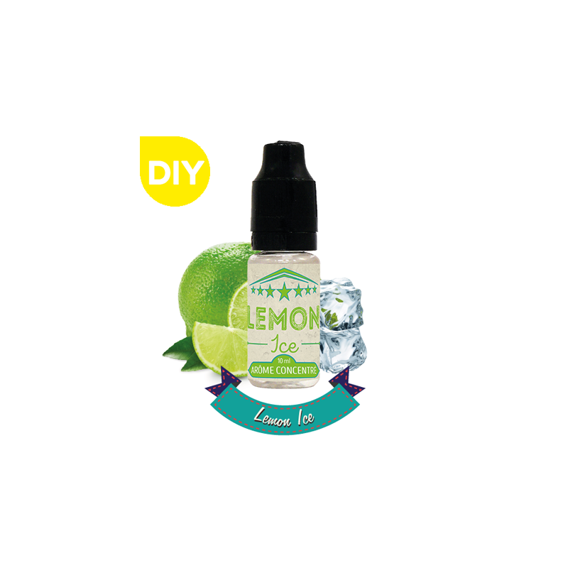 Arôme Lemon Ice 10ml - Concentré DIY VDLV