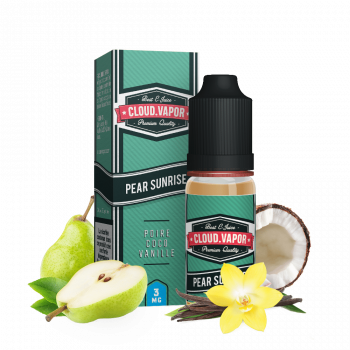 E-liquide PEAR SUNRISE - CLOUD VAPOR