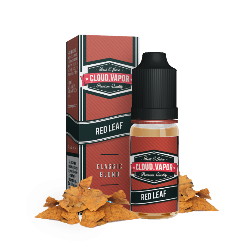 E-liquide saveur RED LEAF - 20 ml - CLOUD VAPOR