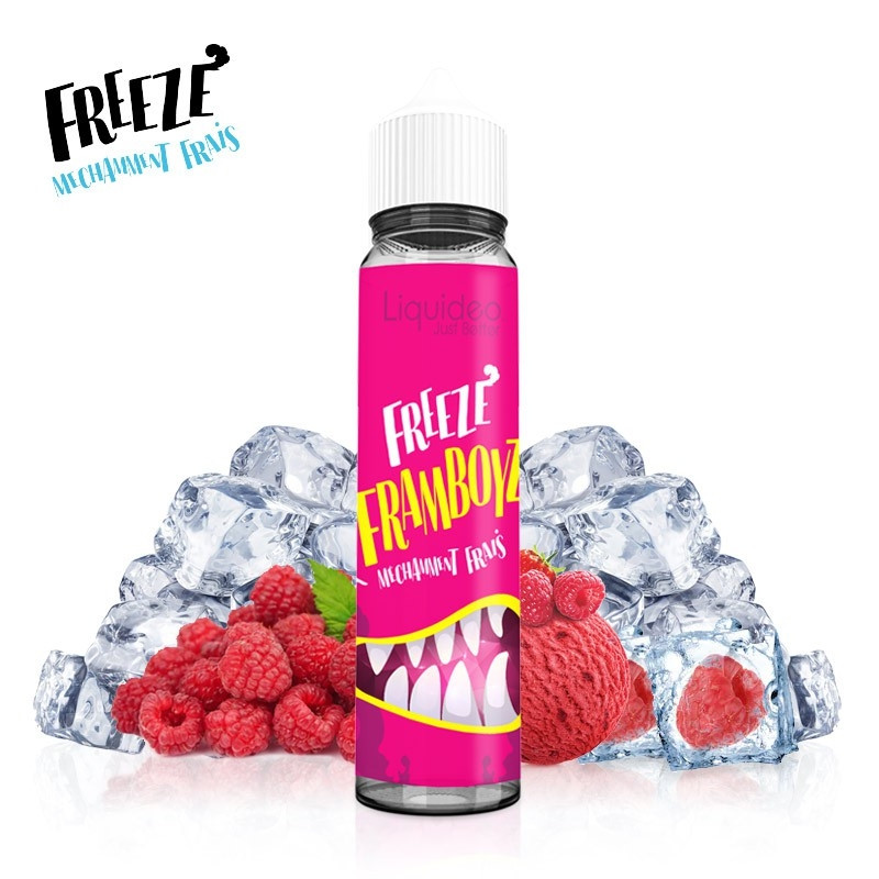 E-liquide Freeze Framboyz 50 ml - Liquideo