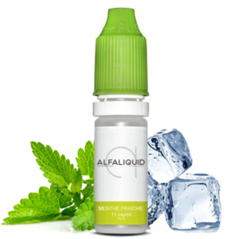 E-liquide Menthe Fraiche promotion - ALFALIQUID