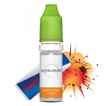 E-liquide Energy Drink promotion - ALFALIQUID