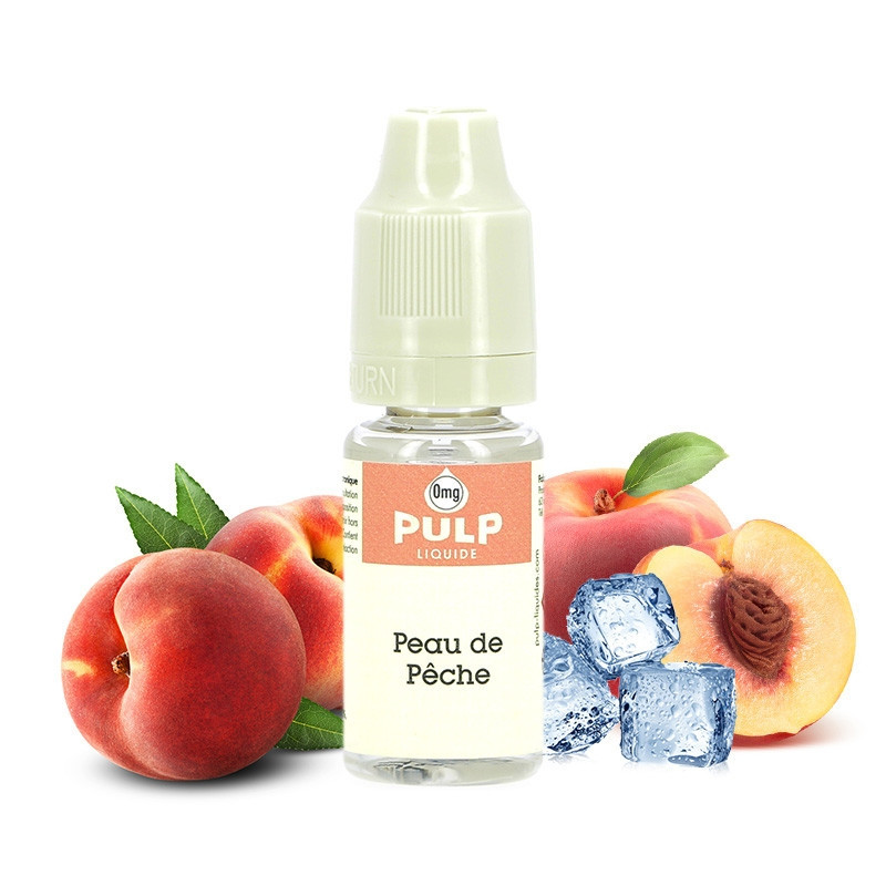 E-liquide Peau de pêche - Pulp