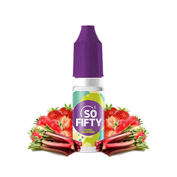 E-liquide Fraise Rhubarbe promotion - SO FIFTY