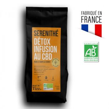 Détox infusion au CBD Sérénithé by Tizz
