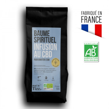 Infusion bio au CBD baume spirituel by Tizz